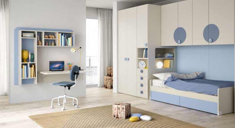Camerette a ponte soluzioni perfette per piccoli spazi for Arredamento camerette piccoli spazi