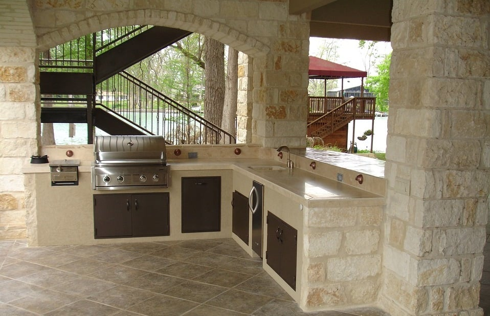 Cucine in muratura moderne vantaggi svantaggi idee - Foto cucine in muratura ...