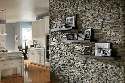 pareti in pietra: la nuova tendenza di design che sta spopolando - Arredamento Pareti In Pietra