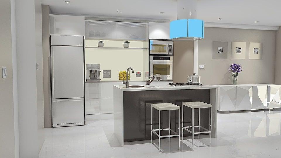 Cucina e soggiorno nella casa moderna la nuova moda l for Concetto aperto cucina soggiorno