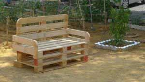 Mobili Giardino Con Pallet.Panche Da Giardino Con Bancali