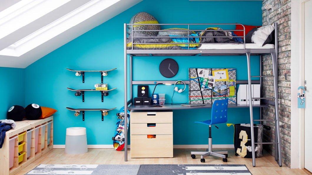 Camere Bianche Ikea : Camerette ikea le soluzioni più belle nel catalogo