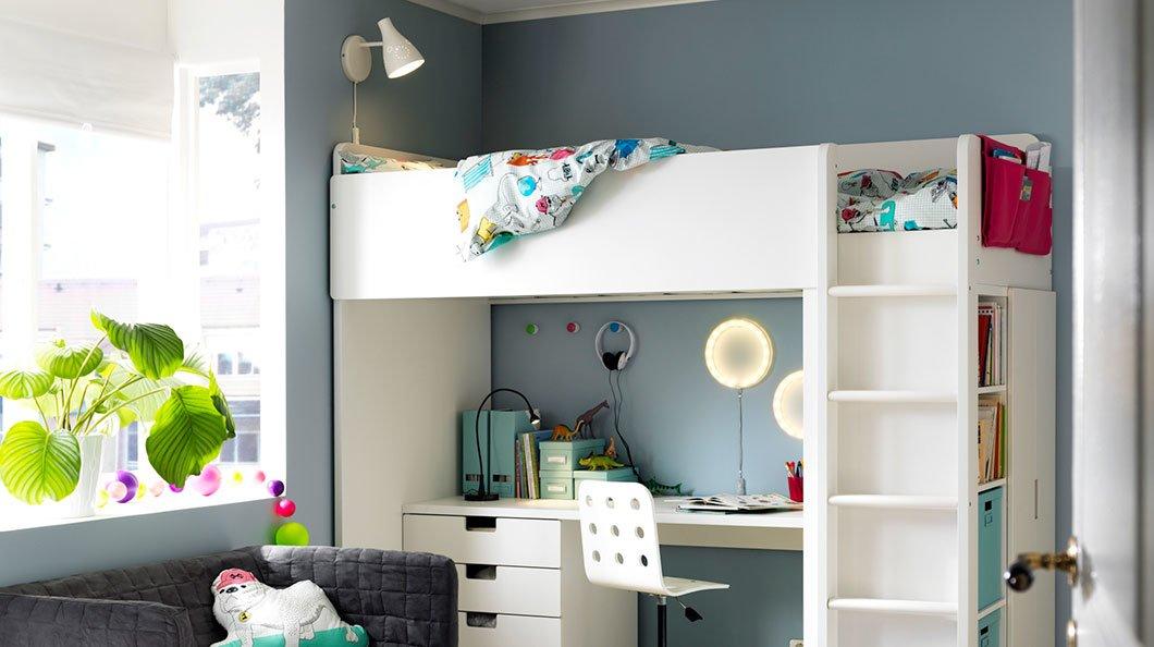 Camerette ikea le soluzioni pi belle nel catalogo 2017 - Ikea lampadario camera bambini ...