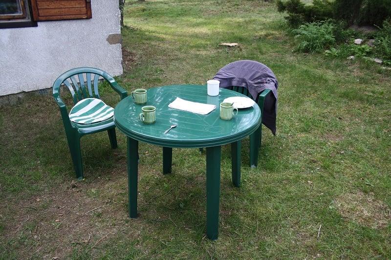 Tavoli Da Giardino In Plastica Economici.Tavoli Da Giardino In Legno Plastica O Ferro Battuto