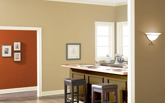 Abbinamento colori pareti gli accostamenti perfetti nella for Colori pareti moderne