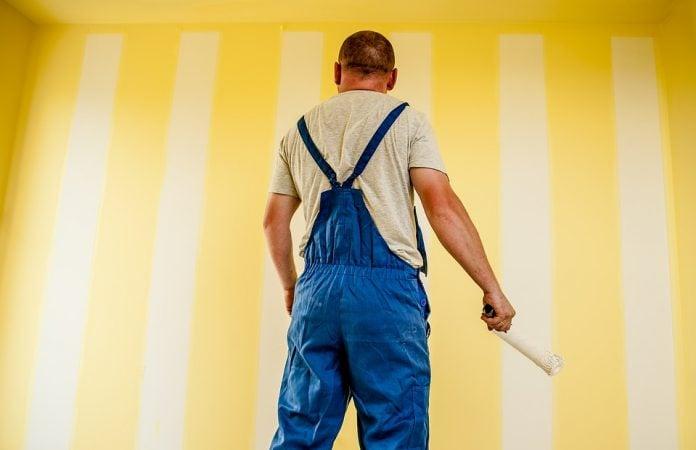 Imbiancare casa quanto costa rivolgersi ad un professionista for Quanto costa imbiancare casa
