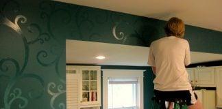 Stencil-per-parete