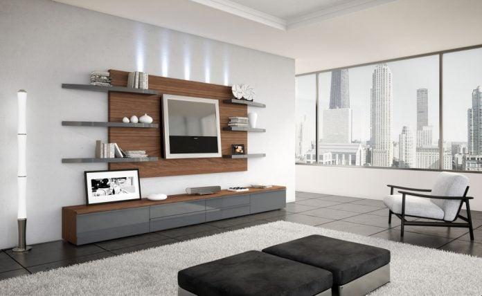Idee Pareti Foto : Pareti attrezzate per un soggiorno moderno idee e consigli